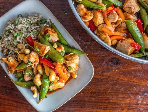 Spicy Kung Pao Chicken!