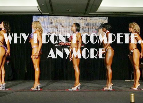 7 Reasons Why I Don't Compete