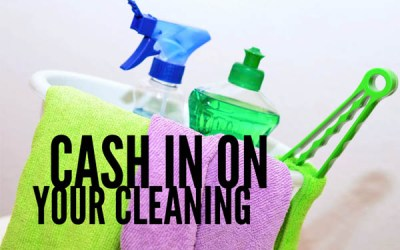 Cashing in on Cleaning