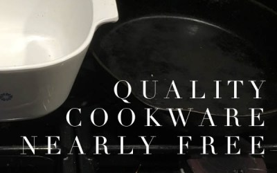 Quality Cookware Nearly Free