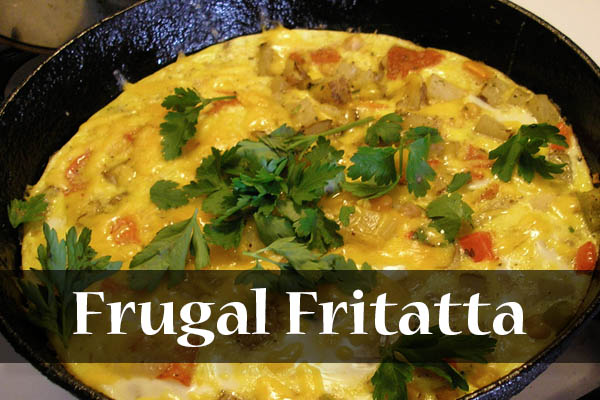 Eat and Freeze Frugal Frittata