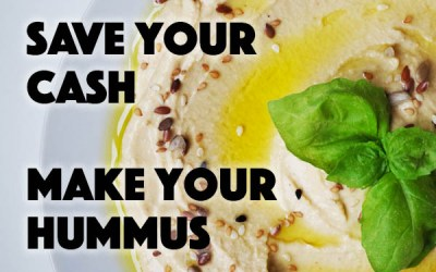 Don't Be a Dip: Make Your Own Hummus
