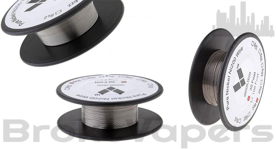 Pure Nickel Wire Ni200