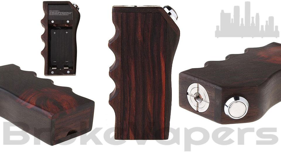Tesla Invader 2 Classic Wood Mechanical Box Mod