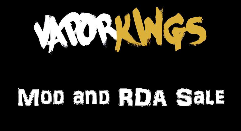 Vapor Kings Mod and RDA Sale