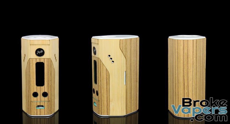 ACWOD Real Wood Skin For WISMEC Reuleaux RX200