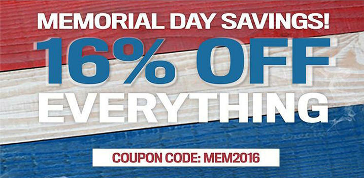 MFS 16% off everything