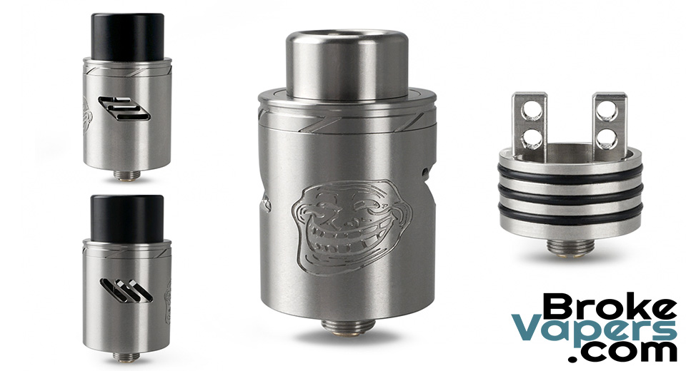Authentic Wotofo The Troll V2 RDA