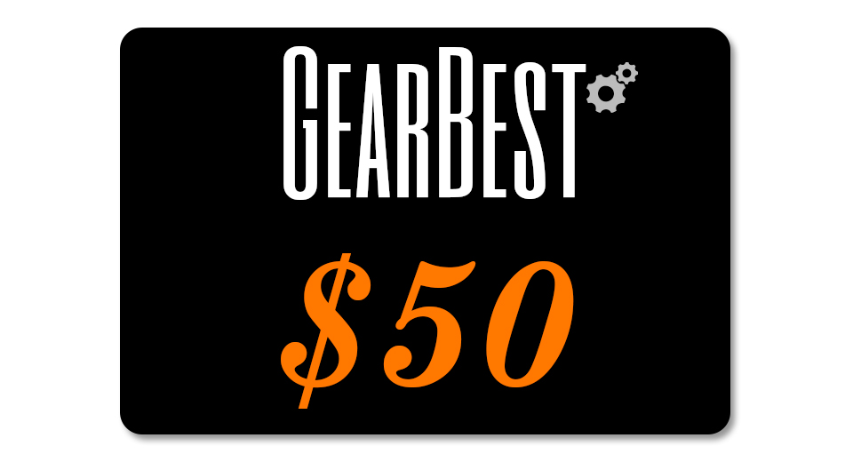 Gearbest $50 Gift Card Giveaway