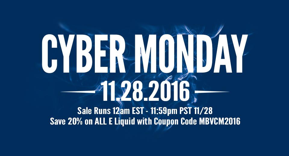 Mount Baker Vapor Cyber Monday