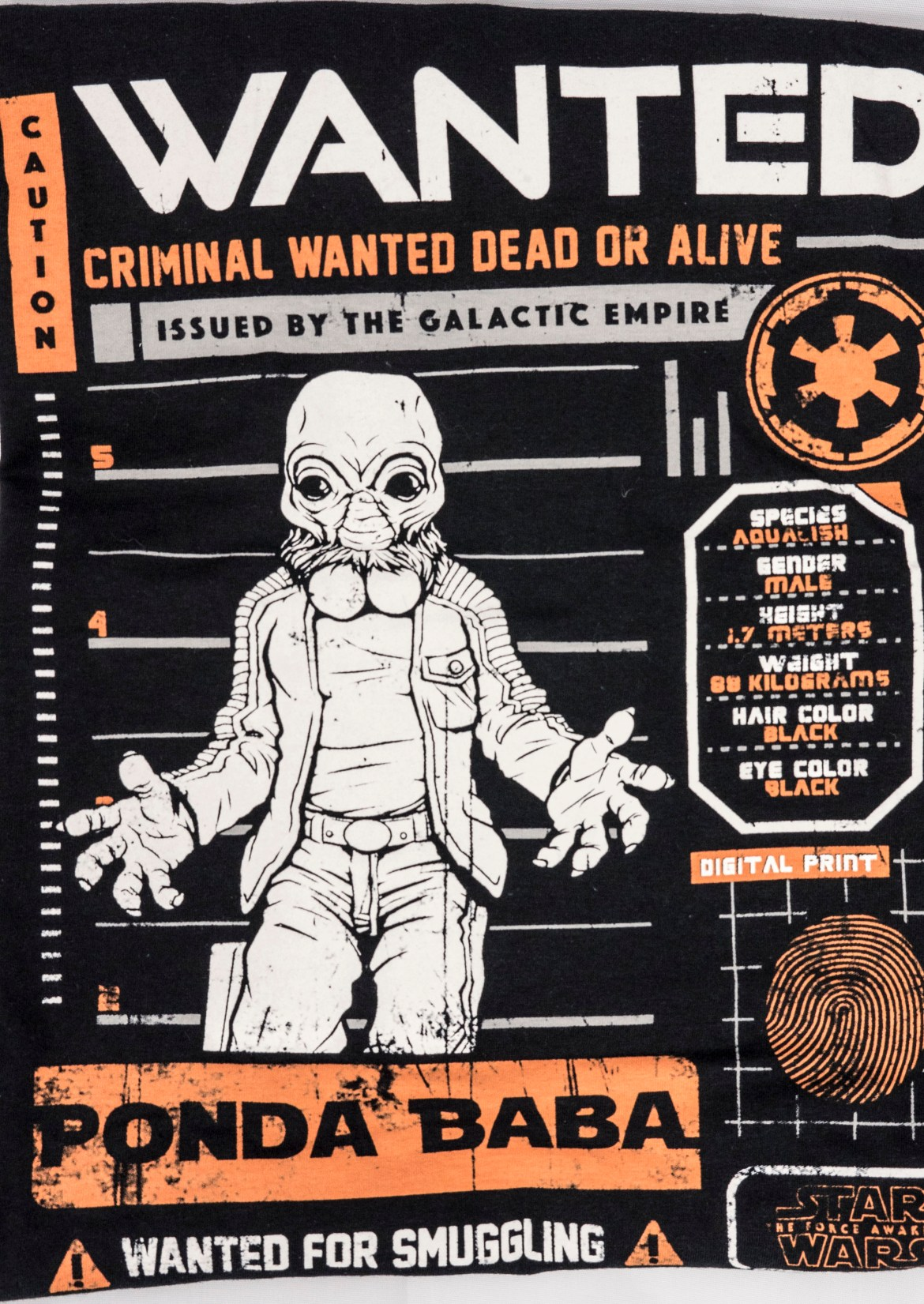 Smuggler's Bounty March 2016 Ponda Baba Shirt