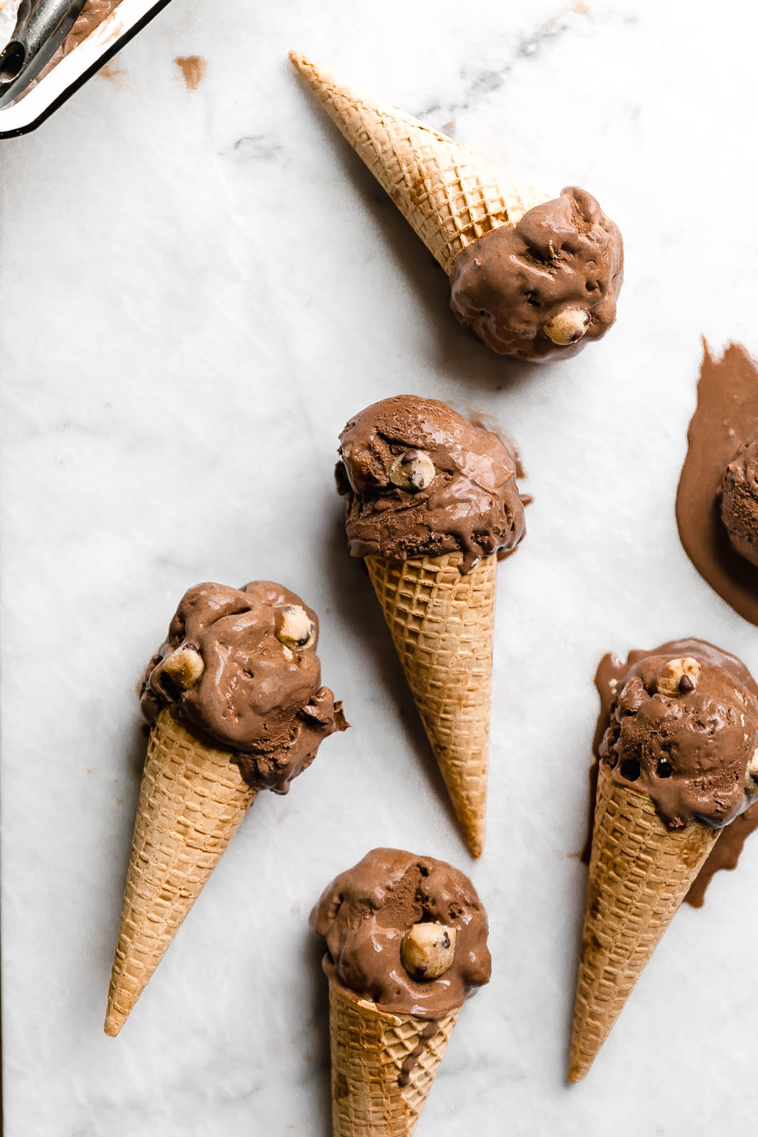 Ice Types Cream Chocolate