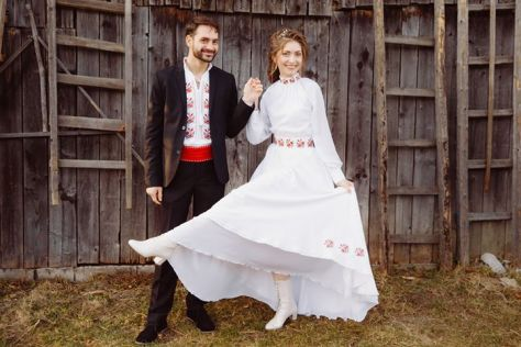 rochie mireasa traditionala