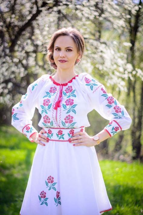rochie romania populara
