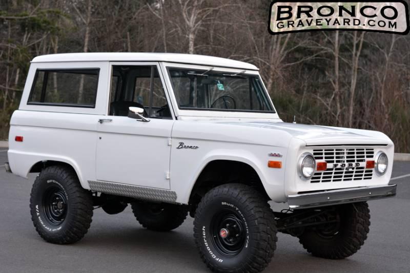 1970 Bronco Wiring Schematic