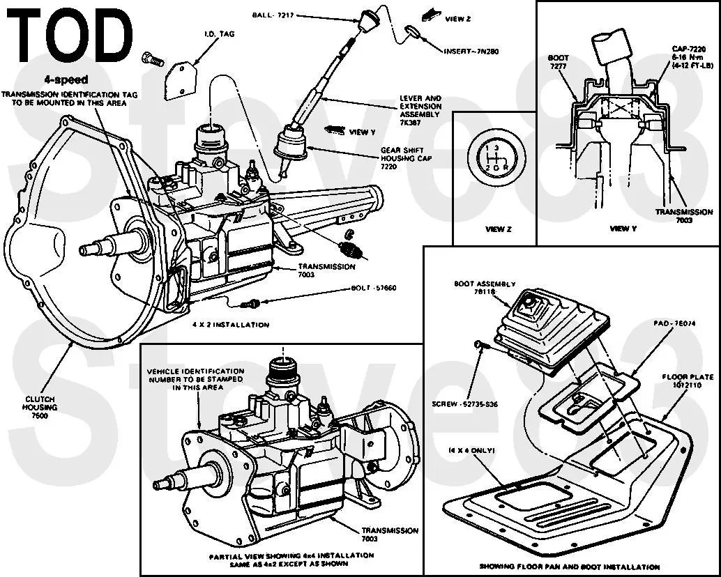 hight resolution of ford c4 transmission parts diagram wiring diagram fuse box interior light diagram 1997 ford thunderbird 1997 ford thunderbird lx fuse box diagram