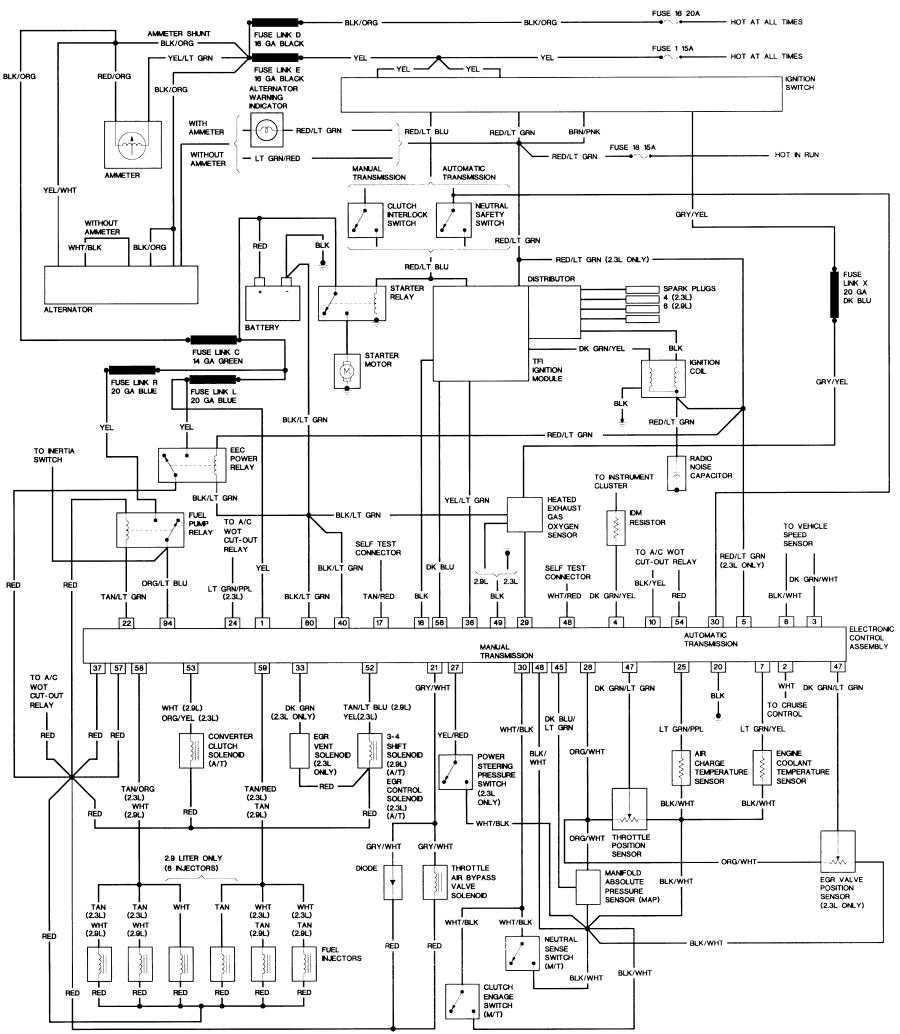 88 bronco 2 wiring diagrams