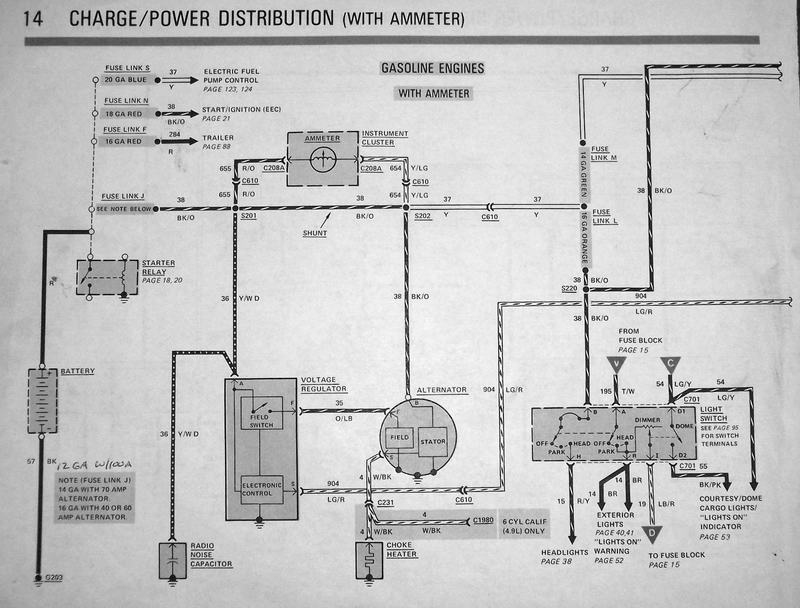 1981 Ford Charging System Wiring Diagram Got Lots Of Questions 66 77 Early Bronco 66 96 Ford