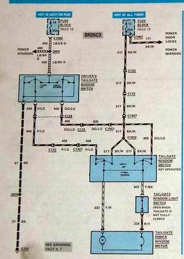 Early Bronco Ignition Switch Wiring Diagram On Early Bronco Efi Wiring