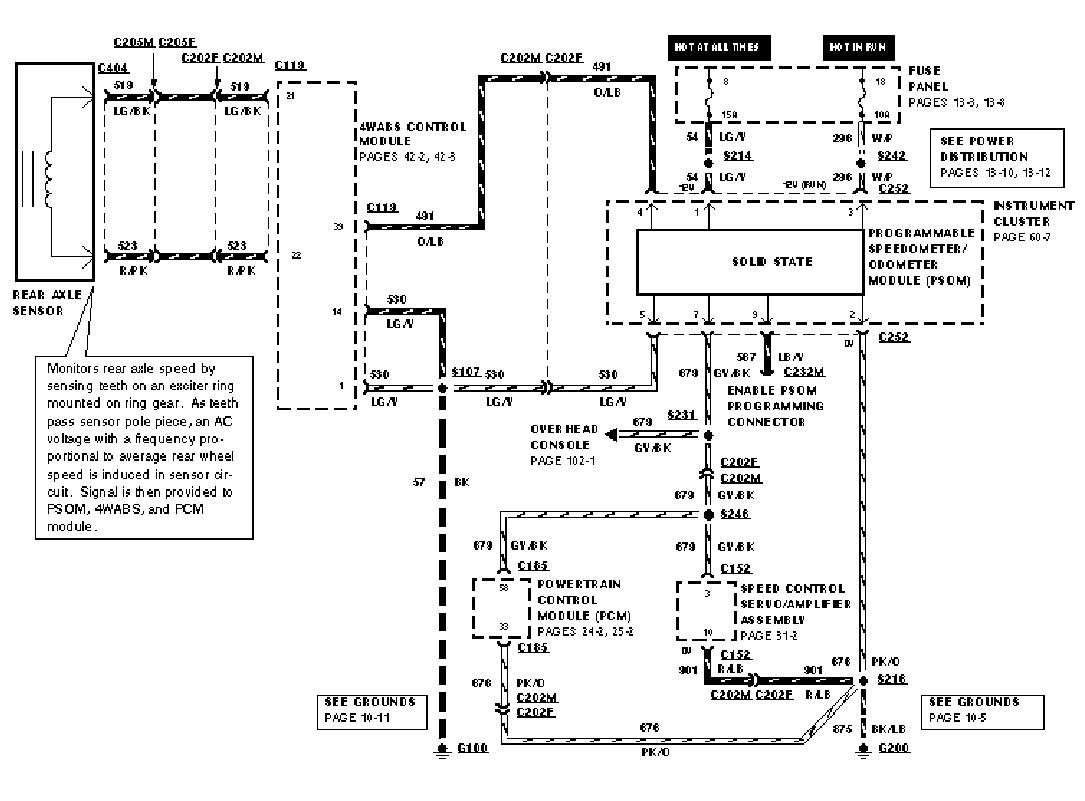 1996 Ford Mustang Wiring Diagram : 32 Wiring Diagram