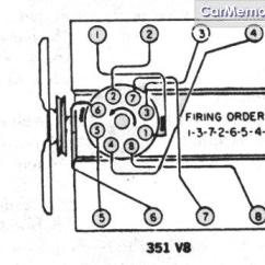 Ford 460 Firing Order Diagram 2007 Nissan Titan Parts 1989 351 - 80-96 Bronco Tech Support 66-96 Broncos Early ...