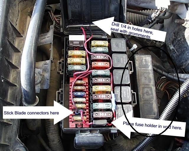 94 F150 Fuse Box Diagram