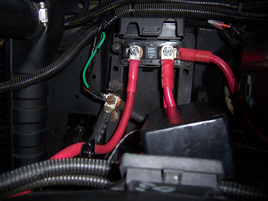 Alternator Wiring Harness For A 5 8