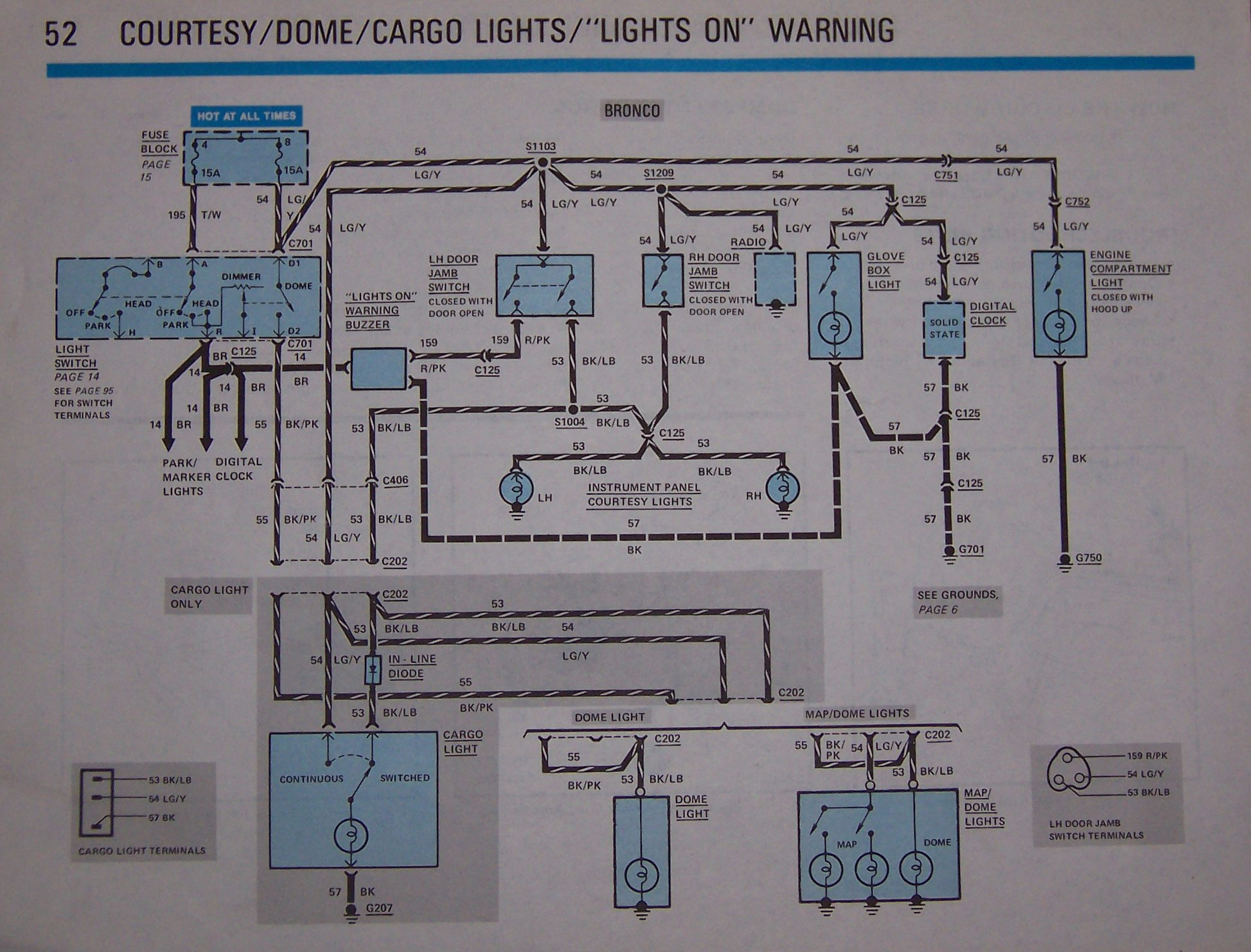 Dome Light Wiring Diagram Ford F150