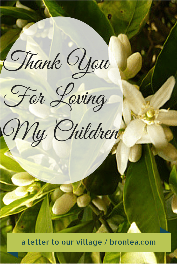 Thank You For Loving My Daughter : thank, loving, daughter, Thank, Loving, Children, Bronwyn's, Corner