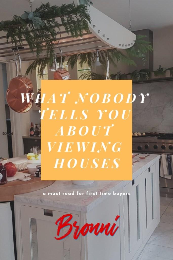 Estate agent viewings UK