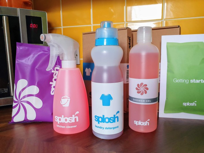 Splosh cleaning products review and discount code