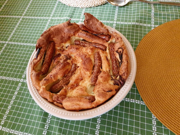 Toad in the hole recipe UK