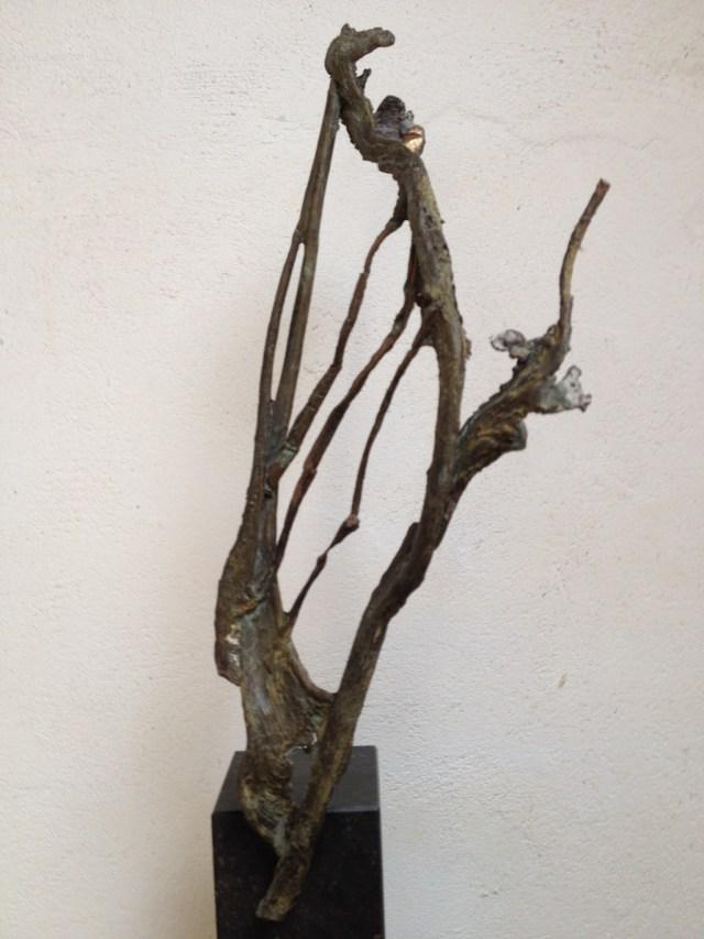 bronzen harp, bronzen beeld, Atelier de Jutteakker