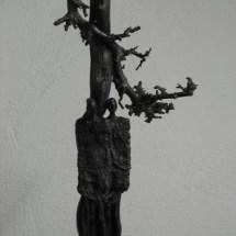 """""""SAMEN EN BESCHUT""""Bronzen beeld serie Connected. Unica"""