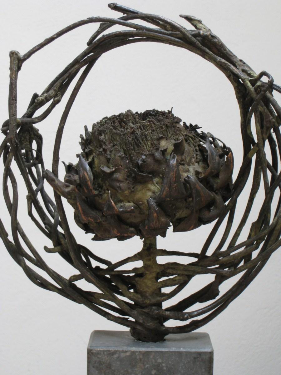 florale kunst, geinpireerd door de natuur, organisch materiaal