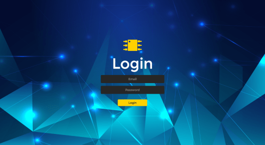React Component Library CMS Login