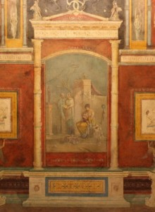 Fresco from the Villa of the Farnesina, Rome.