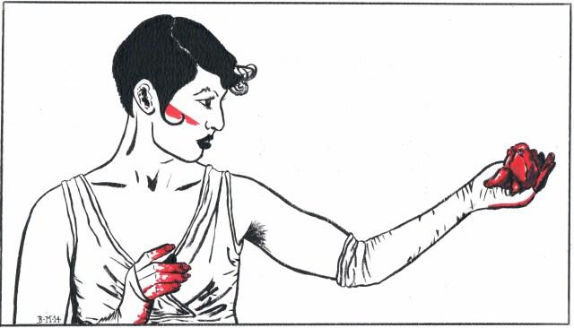 Amanda Palmer by Bronwen MacDonald (2104)