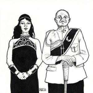 Day 2: Claire and General Riesan from Dominion