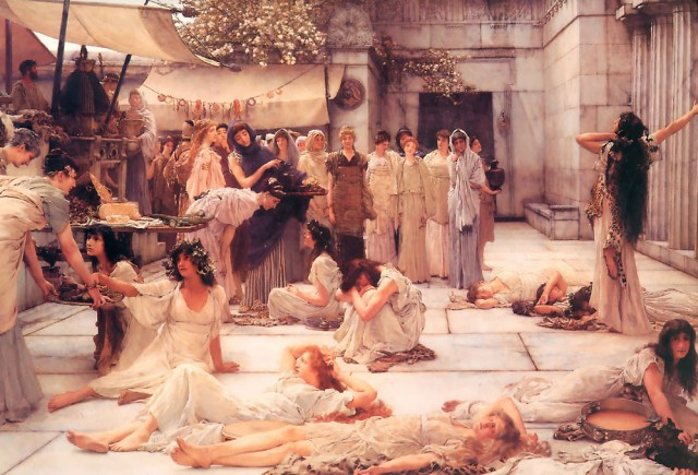 The Women of Amphissa by Sir Lawrence Alma-Tadema (1887)