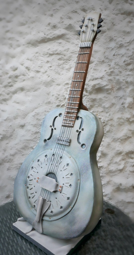 Sculpted Guitar Cake - How Much?