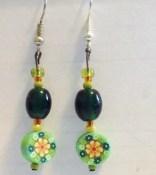 Greensleeves earrings