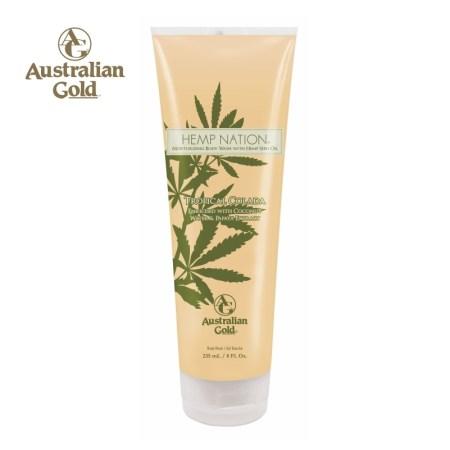 Hemp Nation Tropical Colada body wash