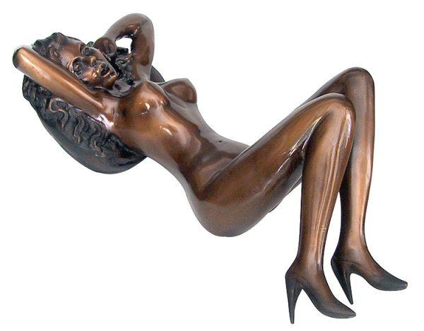 Bronze Erotic Nude Sculpture