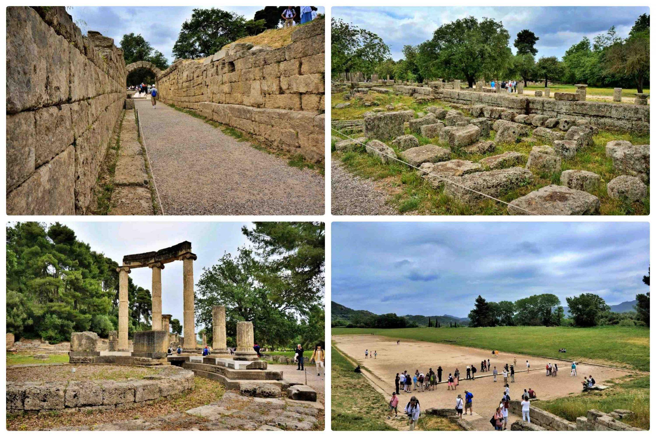 希臘奧林匹亞一日遊 - 奧林匹亞的遺址