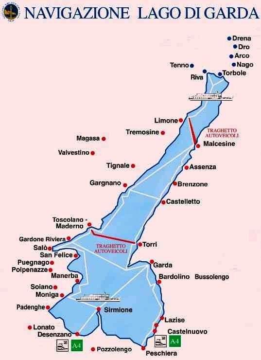 加爾達湖自由行 在義大利Lago di Garda發現超六星級露營區