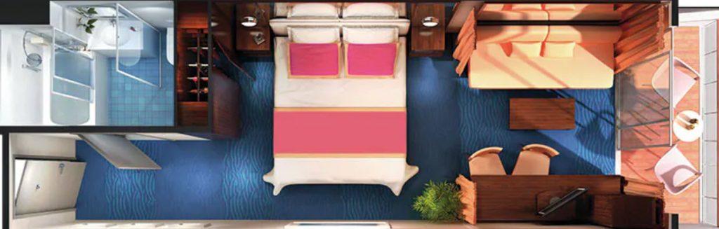 郵輪艙房分類 如何挑選遊輪艙房