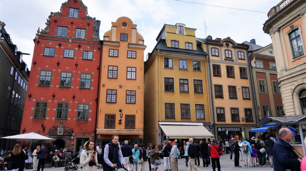2019北歐郵輪清艙 - 瑞典斯德哥爾摩老城區