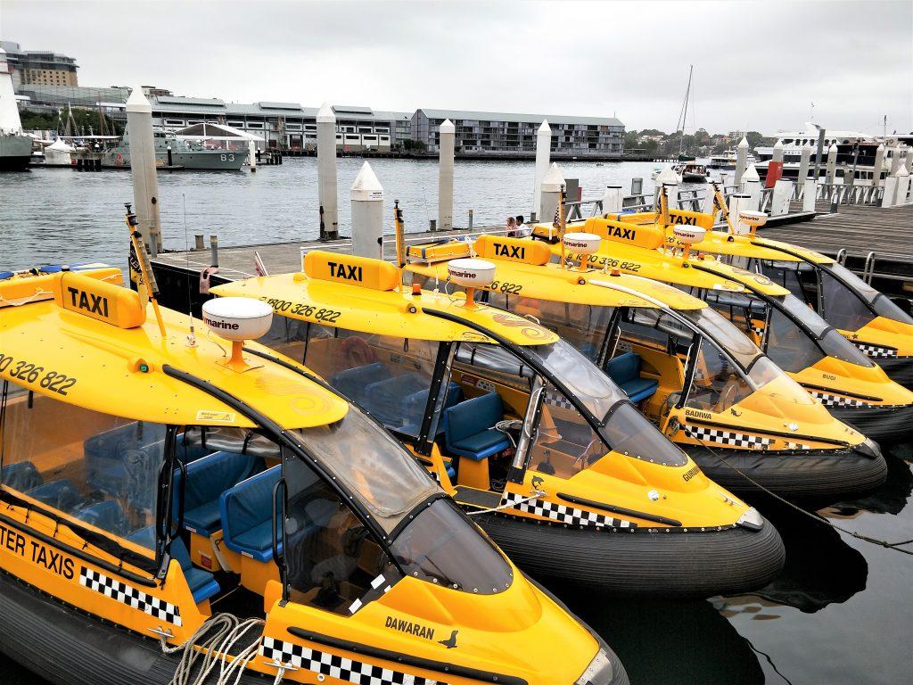 雪梨住宿 - 雪梨水上计程车