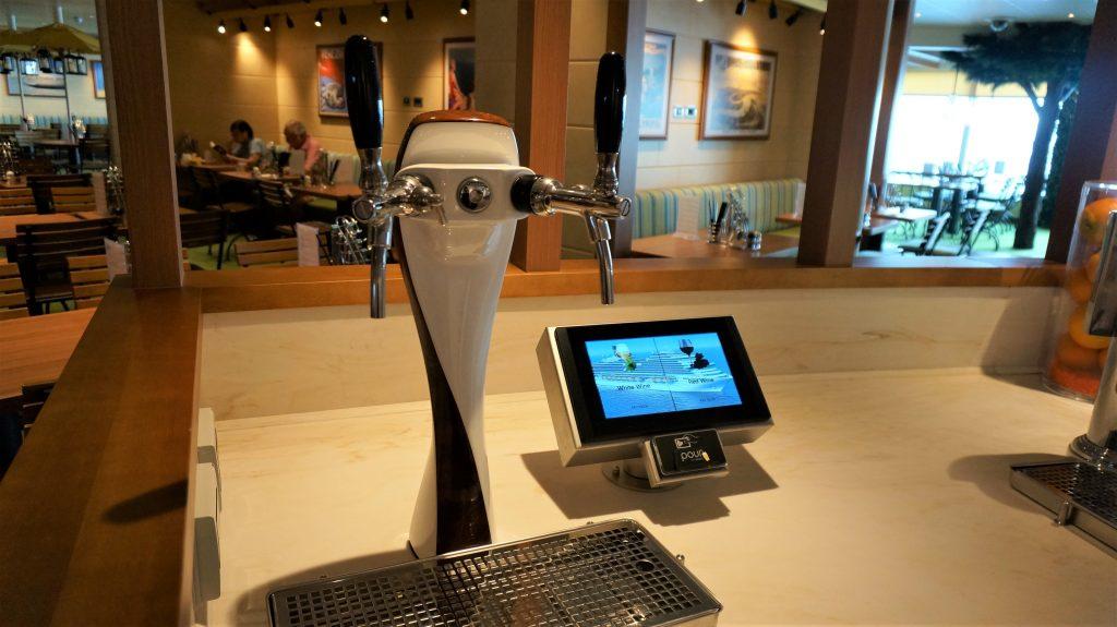 歌诗达威尼斯号 - 酒类自动贩卖机
